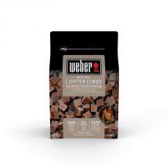 Weber begyújtó kocka barna - ökológiai 48db-os készlet