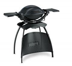 Weber Q™ 1400 Stand, állvánnyal és oldalasztalokkal + ajándék takaróhuzat