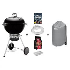 Weber Master-Touch® GBS® Pro Edition grill, 57cm, BLACK