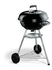 Weber Compact Kettle 47cm, fekete színű