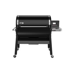 Weber SmokeFire EX6 Wood Fired Pellet Grill, Black